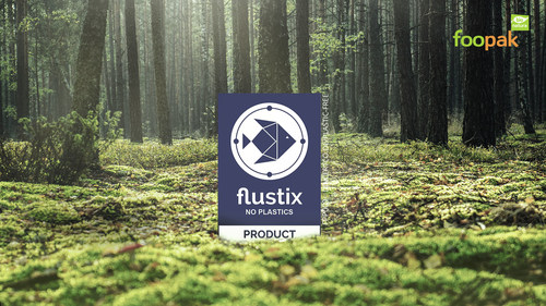 Foopak Bio Natura certified by Flustix - Plastic Free certification
