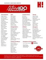 PDF List of the 2021 Latina Powerhouse Top 100