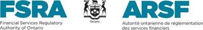 FSRA Logo (Groupe CNW/L'Autorité ontarienne de réglementation des services financiers)