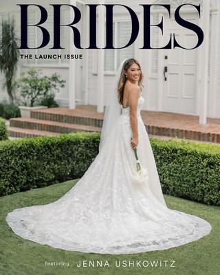 BRIDES LAUNCHES FIRST-EVER DIGITAL MAGAZINE WITH GLEE STAR JENNA USHKOWITZ'S REAL WEDDING