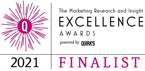 Imperium announced as a finalist in Quirk's 2021 Marketing Research and Insight Excellence Awards