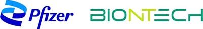 Logos Pfizer et BioNTech (Groupe CNW/Pfizer Canada Inc.)