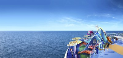 The world's largest cruise ship, Wonder of the Seas, will debut in the U.S. and Europe in 2022. Joining the lineup of returning favorites like the tallest slide at sea, The Ultimate Abyss, are all-new adventures, including Wonder Playscape. The new, open-air kids play area brings an underwater world to life with slides, climbing walls, games, puzzles and an interactive mural activated by touch.