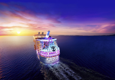Royal Caribbean's newest ship, Wonder of the Seas, will debut in Fort Lauderdale, Florida, in March 2022 before heading to Barcelona and Rome to kick off Mediterranean vacations in May. Across Wonder's eight distinct neighborhoods, a Royal Caribbean first, will be returning favorites and all-new features, including a new Suite Neighborhood, a cantilevered pool bar, The Vue; and Wonder Playscape, the ultimate interactive kids play area.