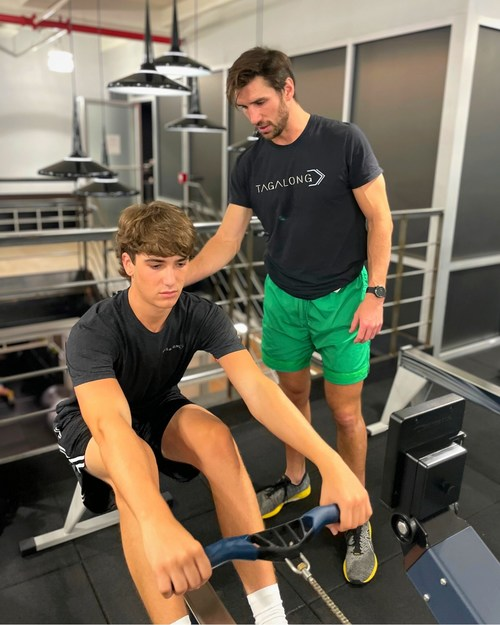 TAGALONG Session with Olympic Rower