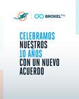 Broxel: nueva tarjeta oficial de los Miami Dolphins de la NFL
