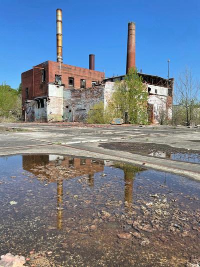 Remains of Union Bleachery textile mill (credit: Warren Zinn)