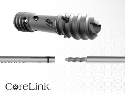 The CoreLink Entasis® SI Joint Fusion System provides an array of joint stabilizing compression screw options with circumferential fenestrations to self-harvest bone graft while compressing the joint. The unique stackable guide wires are designed to give surgeons streamlined instruments and constant proximal control during every step of lateral SI joint fusion procedures.