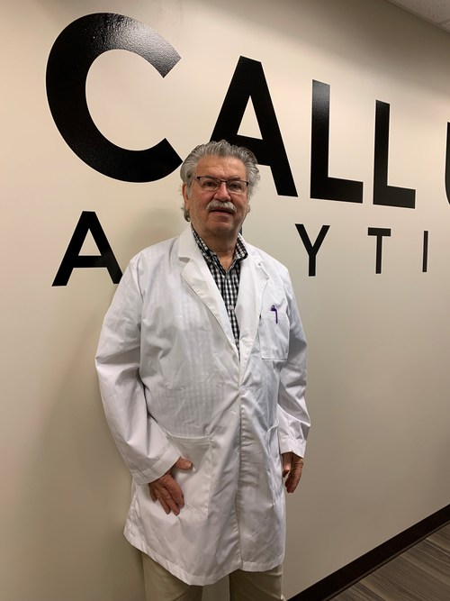 Dr. James Kistler, primary care physician at Dedicated Senior Medical Center, in partnership with Ohio Health, in Columbus, Ohio.