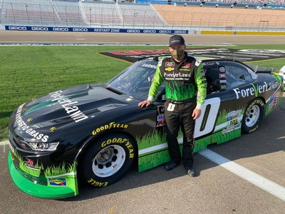 Driven by Earnhardt, the car has become known as the #BlackandGreenGrassMachine by racing fans, which features the popular ForeverLawn paint scheme. The race will be broadcast live on NBC Sports Network and Motor Racing Network at 7:30pm Eastern Daylight Time on Friday, September 17.