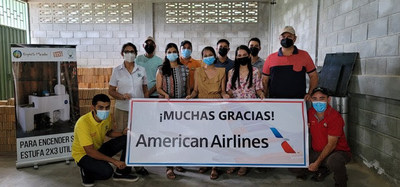 As part of its program with Cool Effect, American Airlines offers its customers the ability to support a portfolio of three global, scientifically verified carbon reduction projects, including a clean cookstove project in Honduras. The project helps local families breathe a little easier, in addition to verifiably reducing carbon emissions.
