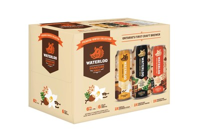 Waterloo Brewing Signature Series Winter Collection (CNW Group/Waterloo Brewing Ltd.)