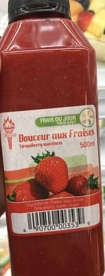 Cocktail douceur aux fraises (Groupe CNW/Ministère de l'Agriculture, des Pêcheries et de l'Alimentation)
