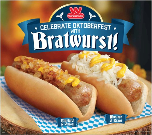 Wienerschnitzel is celebrating Oktoberfest by bringing back a tasty fan favorite - BRATWURST! But hurry, it will be here for a limited time only.
