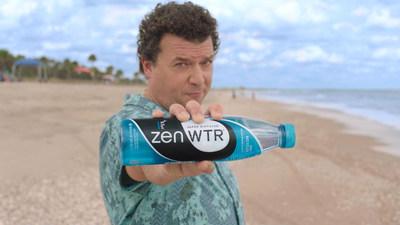 Danny McBride stars in ZenWTR's #ZenPOSE Campaign