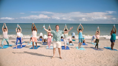 Danny McBride encourages consumers to strike a #ZenPose for a good cause