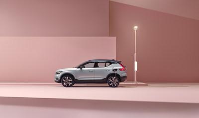 Volvo Cars Canada et Casca font un pas vers un avenir durable grâce à une chaussure inspirée (Groupe CNW/Volvo Car Canada Ltd.)