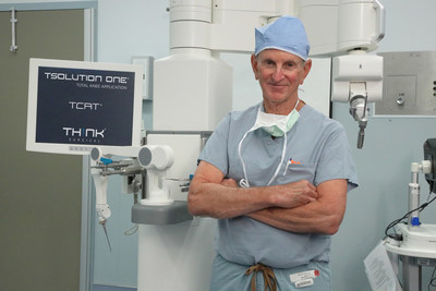 St. Vincent Charity Medical Center is First Hospital in Ohio to Perform Total Knee Replacement Procedures with THINK Surgical's Next-Generation Robot System
