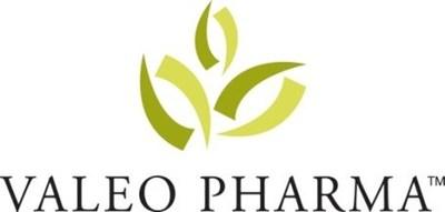 Valeo Pharma inc. Logo (CNW Group/Valeo Pharma Inc.)