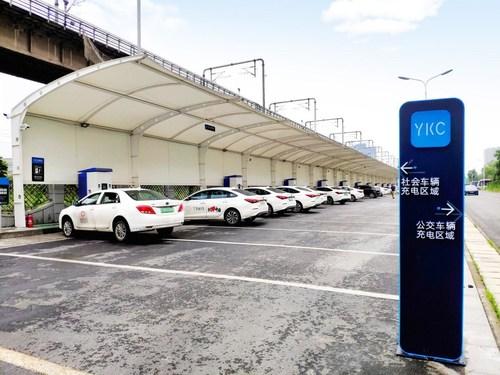 YKC platform-based charging stations