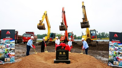 Axalta breaks ground on a state-of-the-art coatings facility in Jilin City, Jilin Province, North China.