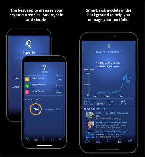 The SupraFin app (iOS)