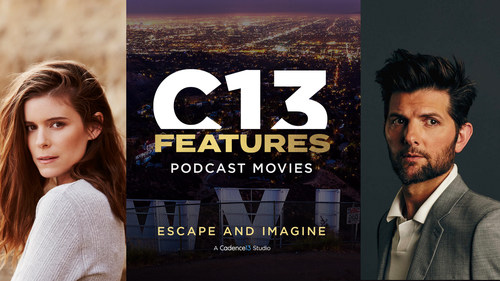 Acclaimed Actors Kate Mara and Adam Scott Board C13Features Podcast Movie 'Ghostwriter'