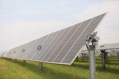Dominion Energy Virginia's Scott Solar facility in Powhatan County, Va.