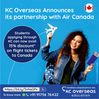 KC Overseas Education Collaborates with Air Canada to offer Discounted Airfares to International Students