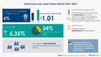 Barcode Label Printer Market size to increase over $ 1 Bn between 2021-2025 | Discover Latest Trends, Growth Accelerators, and Risk Factors | Technavio