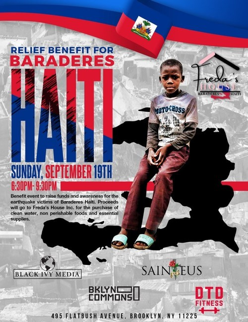 Local NYC Community leader George Sainteus launches an initiative to raise funds in the wake of the recent earthquake to support rebuilding & infrastructure in Haiti