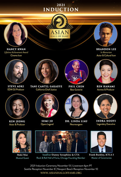 Asian Hall of Fame - 2021 Induction