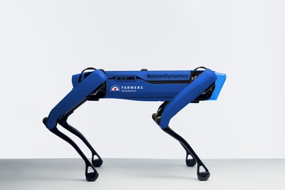 Created by Boston Dynamics and customized for Farmers®, Spot® will join Farmers claims personnel beginning as early as fall 2021 to help assess damage from catastrophes such as hurricanes, tornadoes, earthquakes, and wildfires.