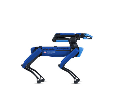 The robot may also help Farmers claims adjusters collect critical data and assist with claims handling optimization to serve impacted customers more efficiently.