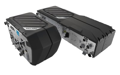Ballard Power Systems FCmoveTM-HD+ for both engine bay and rooftop configurations (CNW Group/Ballard Power Systems Inc.)