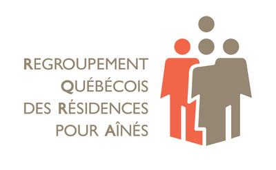 Logo du Regroupement quebecois des residences pour aînes (Groupe CNW/Regroupement québécois des résidences pour aînés)