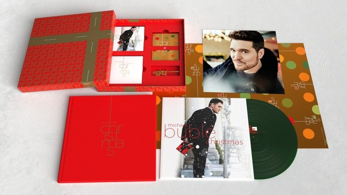 Michael Bublé Christmas 2021 Super Deluxe 10th Anniversary Limited Edition Box Set Available Nov. 12th In The U.S. & Canada And Nov. 19th Globally