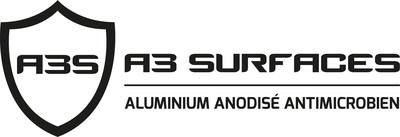 Logo de A3 Surfaces (Groupe CNW/A3 Surfaces)