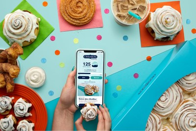 Cinnabon launched its first-ever Cinnabon app, Cinnabon Rewards program & online ordering with delivery ? giving fans easy access to the irresistible treats they know & love, right at their fingertips. Through Cinnabon Rewards, members can earn points on each purchase toward rewards & enjoy offers just for being a loyal customer. To celebrate, Cinnabon is turning National Cinnamon Roll Day (Oct. 4) into a week-long celebration with exclusive deals on orders placed via the app or Cinnabon.com.