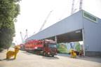 Zoomlion bat encore un record dans le domaine de la fabrication haut de gamme et exporte la grue sur chenilles au plus grand tonnage de Chine