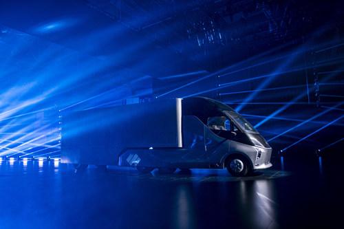 Xingtu is DeepWay's smart new energy heavy-duty truck with a sleek, energy efficient design.