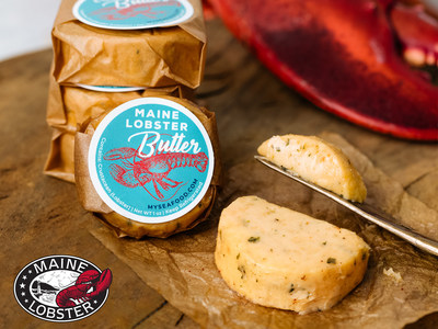 Myseafood.com and the Maine Lobster Marketing Collaborative partnered to create the first-ever Maine Lobster Butter: the ultimate mash-up of sweet Maine Lobster and creamy butter.