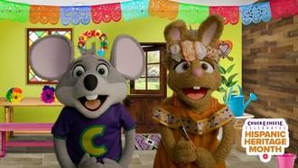 Chuck E. Cheese® Celebrates Hispanic Heritage Month