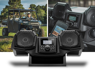 RNGR18-STG1 All-In-One Front Audio System for select Polaris Ranger Vehicles