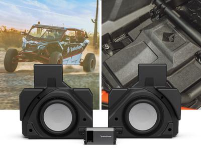 Rockford Fosgate® 1,000-Watt Rear Dual 10-inch Subwoofer Solution for Select Can-Am Maverick® X3 MAX Vehicles