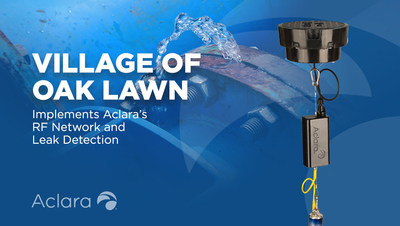 The Village of Oak Lawn, Ill., a suburb of Chicago, is completing the implementation of its Aclara RF™ advanced metering infrastructure (AMI) communications network and a landmark acoustic leak detection system.