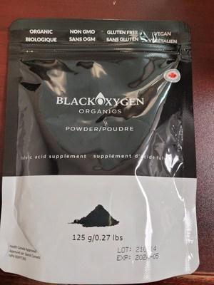 咨询 -  Blackoxygen Organics由于潜在的健康风险而召回富甲酸片和粉末