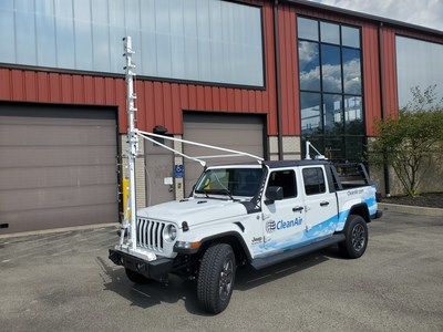CleanAir deploys Picarro-equipped vehicles to conduct methane surveys and quantify emissions in the Marcellus Shale region.