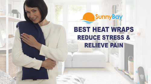 SunnyBay's heat wrap reduces stress and relieves pain.