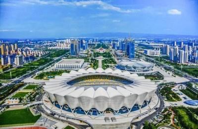 14ª edição dos Jogos Nacionais da China começam em Xi'an, província de Shaanxi. (PRNewsfoto/Xi'an Municipal Government)